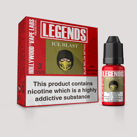 Iceblast – LEGENDS® TPD Blue Melon Menthol